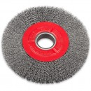 SIT Wire Brush for Grinders - Steel Single Row 200mm