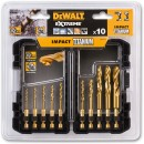 DeWALT 10 Piece Impact Titanium Drill Set DT50050