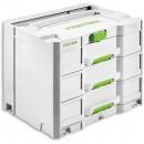 Festool Sortainer SYS 4 TL-SORT/3 3-drawer unit