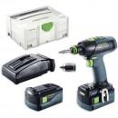 Festool T18+3 Li 5.2 PLUS Drill Driver AIRSTREAM 18V