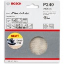 Bosch Net M480 Abrasive 125mm x 240G Pkt 5