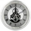 Craftprokits 100mm Silver Skeleton Clock Insert