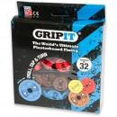 GripIt Plasterboard Fixings Assorted Kit (Pkt 32)