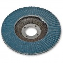 Zirconium Flap Disc - 115mm (22mm Bore) 80 Grit