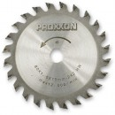 Proxxon TCT Saw Blade (80mm x 24 teeth)