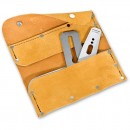 Deluxe Leather Plane Blade Wallet