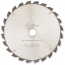 Axcaliber Contract TCT Saw Blade 254mm x 3.2mm x 30mm T24 ATB