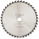 Axcaliber Contract TCT Saw Blade 254mm x 3.2mm x 30mm T40 ATB