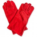Supertouch Leather Gauntlet Gloves