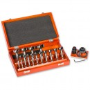 Axminster 16 Piece Forstner Bit Set