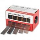 Axminster Abrasive Mesh Strip Kit