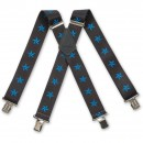 Nautical Stars Blue Braces