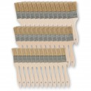 36 Assorted Disposable Paint Brushes