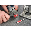 Easy cutter change with full access to the collet