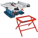 Bosch GTS 10 XC 254mm Table Saw with Leg Stand - PACKAGE DEAL