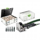 Festool DOMINO DF 500 Q-Plus Jointer & Assortment 1060 - PACKAGE DEAL