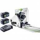 Festool TSC 55 REB PLUS FS Plunge Saw & FS1400 Guide Rail AIRSTREAM 18V