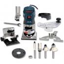 Bosch GKF 600 Router Kit + Cutter Set - 230V