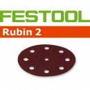 Festool Rubin 125mm Sanding Discs - 80 Grit