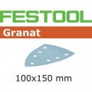 Festool Delta Granat Abrasive 100 x 150mm 120 Grit (Pkt10)