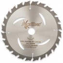 Axcaliber Contract TCT Saw Blade - 165mm x 1.5mm x 20mm T24