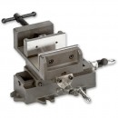 """Axminster Cross Clamp Vice -100mm( 4"""")"""