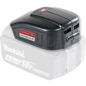 USB Charger Adaptor for Power Tool Battery Packs
