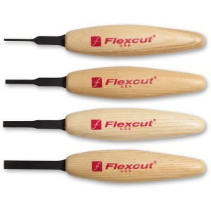 Flexcut MT100 Micro Tool Chisel Set