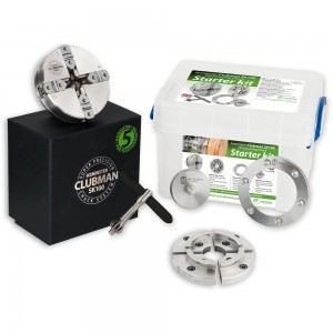Axminster Woodturning Starter Kit SK100 Chuck Package