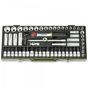 "Proxxon 65 Piece Super Compact Socket Set (3/8"")"