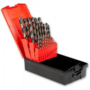 Ig2 25 Piece 1.0-13 x 0.5mm HSS Drill Set Two Tone