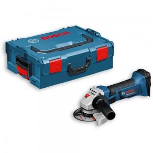 Bosch GWS 18 V-LI Angle Grinder 18V in L-Boxx 115mm (Body Only)