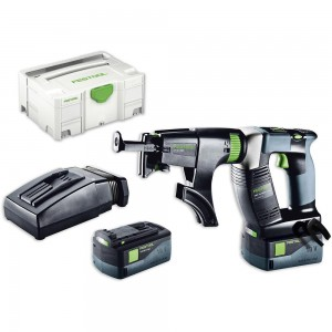 Festool DWC 18-4500 Li 5.2 PLUS Drywall Screwdriver AIRSTREAM 18V