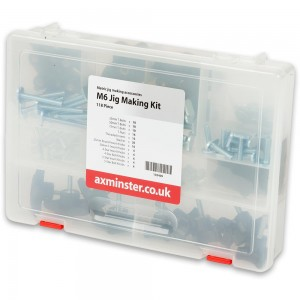 Axminster 118 Piece All Metric Jig Making Kit