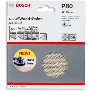 Bosch Net M480 Abrasive Discs 125mm