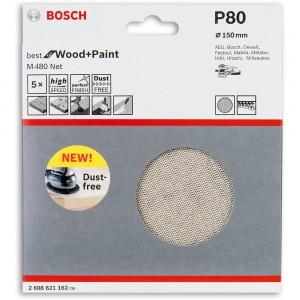 Bosch Net M480 Abrasive Discs 150mm