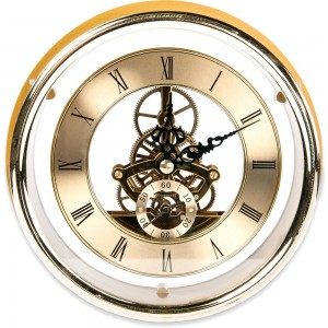 Craftprokits 149mm Gold Skeleton Clock Insert