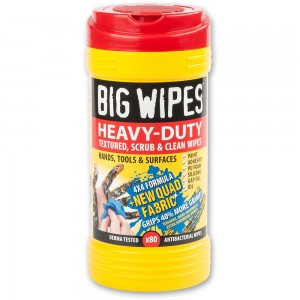 Big Wipes Heavy Duty Hand Wipes - 80 Wipe Tub