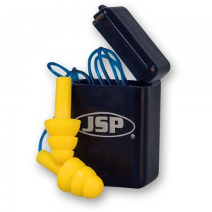 JSP Maxifit Pro Ear Plugs With Cord In Case