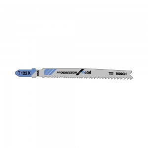 Bosch T123X Progressor Jigsaw Blades