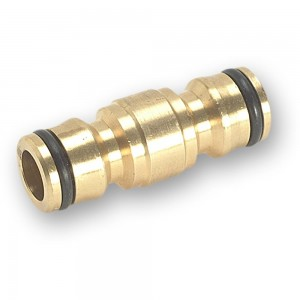 Rehau Brass Double Male Connector
