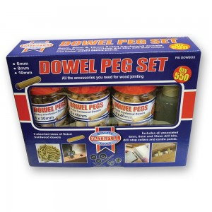 Faithfull Wood  Fluted Dowels and Glue Kit