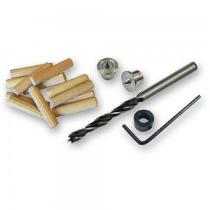 Faithfull Dowel Kit - Drill & Points