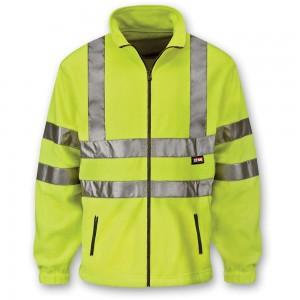 Scan Hi Vis Yellow Full Zip Fleece