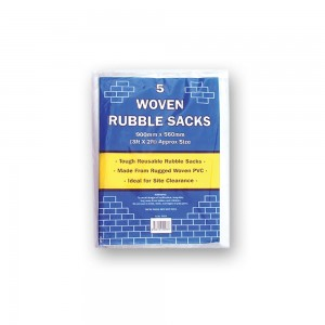 Tristar Woven Rubble Sacks (Pkt 5)