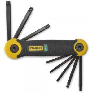 Stanley 8 Piece Folding Torx Key Set