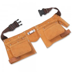 BlueSpot Tools Double Leather Tool Pouch
