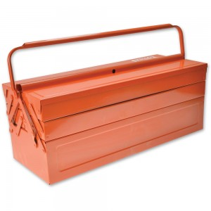 Bahco Orange Metal Cantilever Toolbox