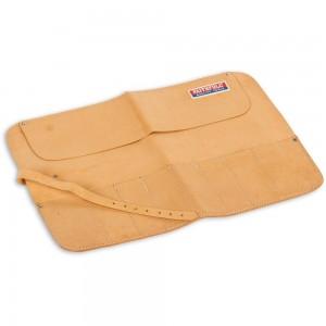 Faithfull 8 Pocket Leather Chisel Roll
