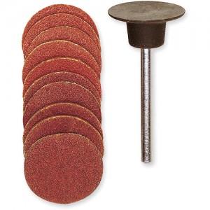 Proxxon 18mm Sanding Discs with Arbor